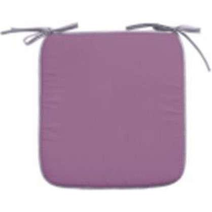 Купить Галета для стула Тити 38х38 см цвет лавандовый-лиловый дешевле