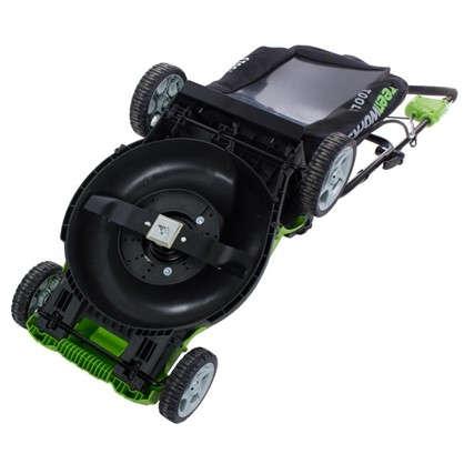 Заказать Газонокосилка аккумуляторная GreenWorks 40В 4Ah 40 см зарядное устройство в комплекте дешевле