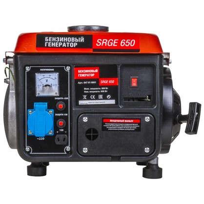 Генератор бензиновый SRGE 650 0.65 кВт