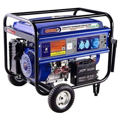 Генератор гибридный газ/бензин Спец HG-7500 6 кВт