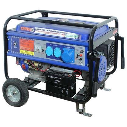 Генератор гибридный газ/бензин Спец HG-8500 7 кВт