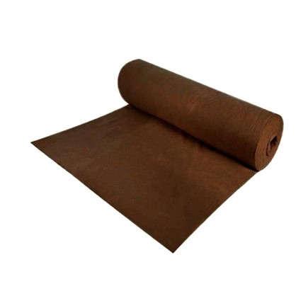 Геотекстиль 100 г/м 1х20 м цвет коричневый