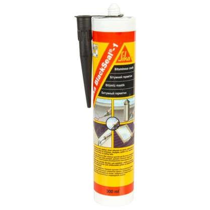 Купить Герметик битумный Sika BlackSeal-1 310 г дешевле