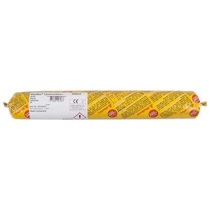 Купить Герметик Sika Sikaflex Construction 600 мл цвет белый дешевле