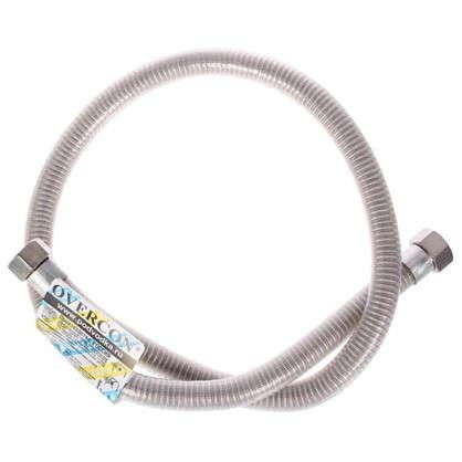 Гибкая подводка для газа и воды сильфон 1/2 дюйма гайка-гайка 100 см