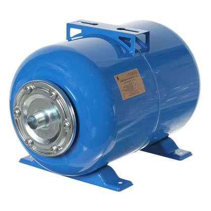 Гидроаккумулятор горизонтальный 24 л фланец оцинкованная сталь