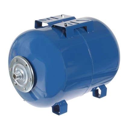 Гидроаккумулятор горизонтальный 50 л фланец оцинкованная сталь