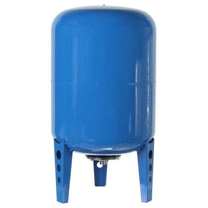 Гидроаккумулятор вертикальный 100 л фланец оцинкованная сталь