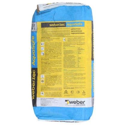 Купить Гидроизоляция цементная Weber.tec AquaSafe дешевле