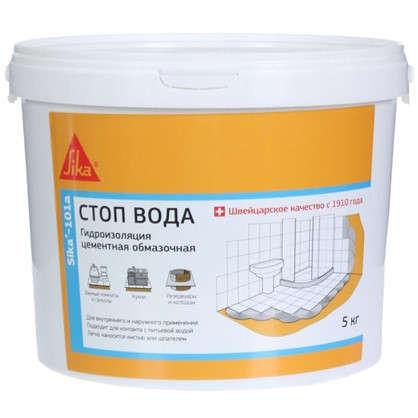 Купить Гидроизоляция Sika 101A Стоп-Вода 5кг дешевле