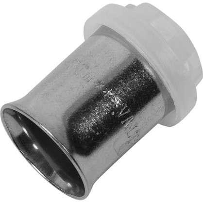 Гильза для пресс-фитинга Valtec 16 мм никелированная латунь