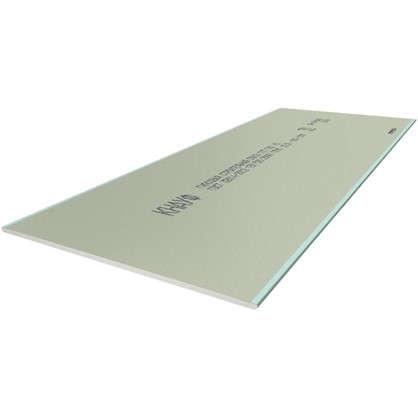 Гипсокартон влагостойкий Knauf ГСП-Н 1500x600х12.5