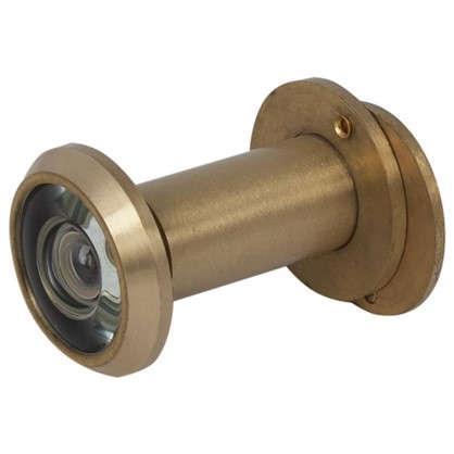 Глазок дверной Armadillo DVG1 16х35-60 мм цвет матовое золото