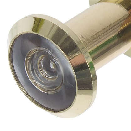 Купить Глазок дверной Fuaro DVZ1 16х35-60 мм цвет золото дешевле