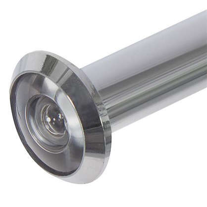 Глазок дверной Fuaro DVZ2 16х60-100 мм цвет хром