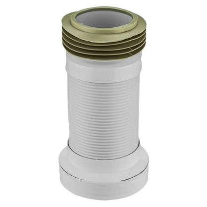 Гофра для унитаза армированная Акватер L 110 мм