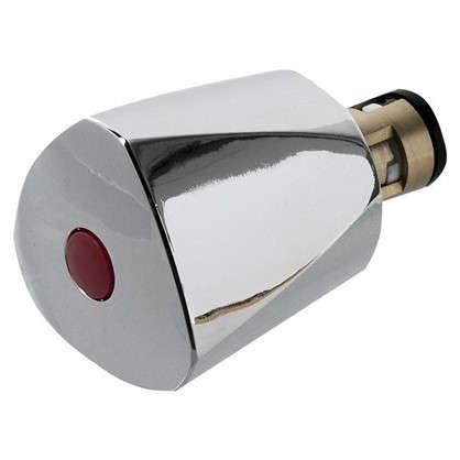 Купить Головка вентильная керамическая М18х1 латунь цвет хром дешевле