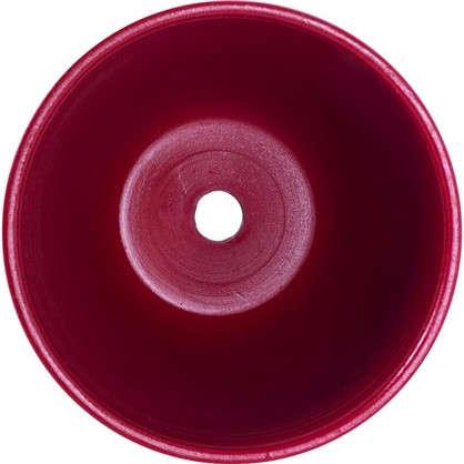 Горшок цветочный № 3 керамика 1.5 л 15 см цвет красный