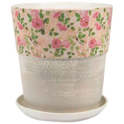 Горшок цветочный Бонди №6 8.5 л 260 мм глина