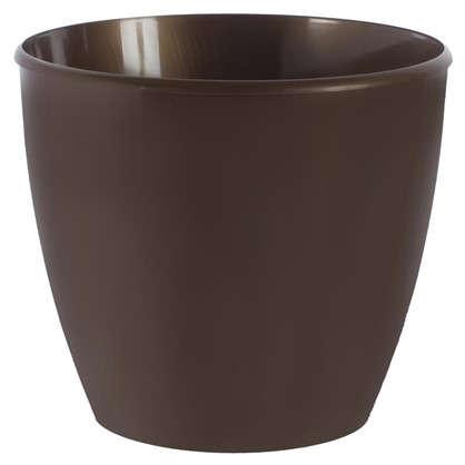 Купить Горшок цветочный Колорс коричневый 21 л 360 мм высота 320 мм пластик дешевле