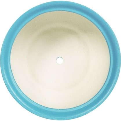 Горшок цветочный Орфей d19 см керамика цвет синий
