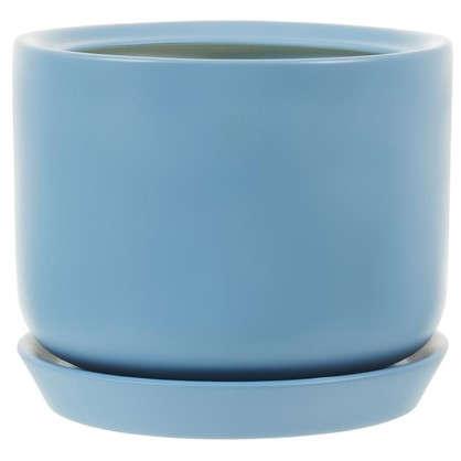 Горшок цветочный Орфей d24 см керамика цвет синий