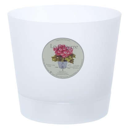 Купить Горшок цветочный Орхидея прозрачный 1.4 л 150 мм пластик дешевле