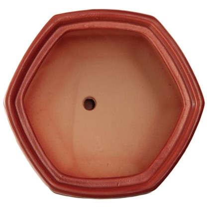 Горшок цветочный Пуппи №2 0.8 л 120 мм глина цвет розовый