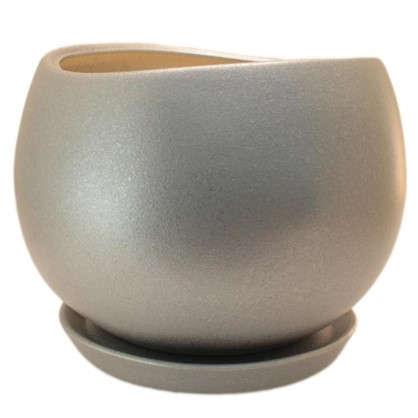 Купить Горшок цветочный Шебби Шик №4 2.6 л 180 мм глина дешевле