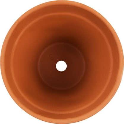Горшок цветочный Стандарт терракот 1.2 л 130 мм керамика
