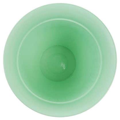 Горшок цветочный Виноград бирюзовый 2.5 л 200 мм пластик с поддоном