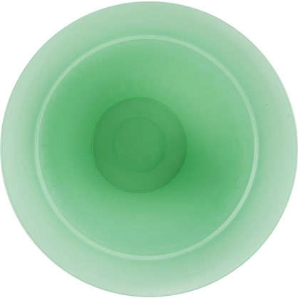 Купить Горшок цветочный Виноград бирюзовый 4 л 300 мм пластик с поддоном дешевле