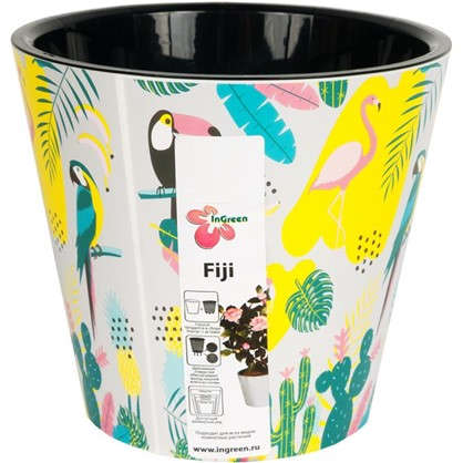 Горшок для цветов Фиджи Фламинг 16 см 1.6 л