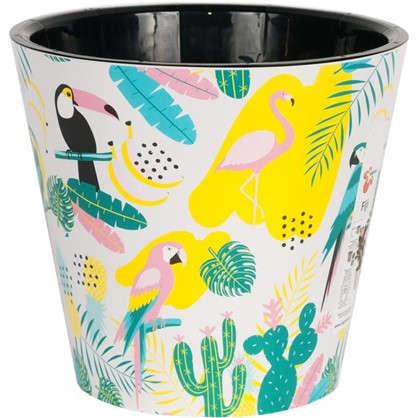 Купить Горшок для цветов Фиджи Фламинго 23 см 5 л дешевле