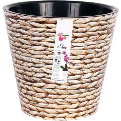 Горшок для цветов Фиджи Плетение 23 см 5 л
