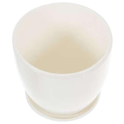 Горшок Колор гейм белый d15 см 1.5 л