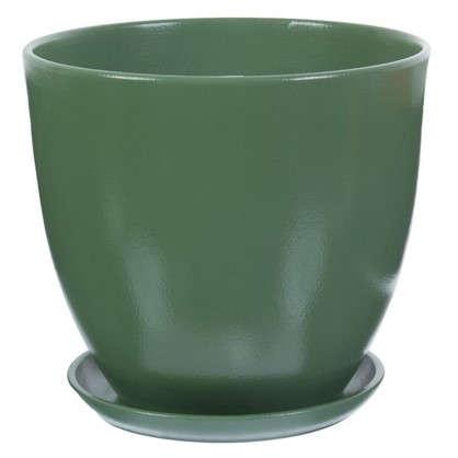 Горшок Колор гейм зеленый d26 см 8.5 л