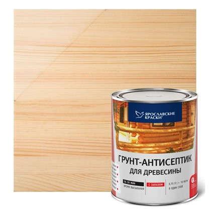Грунт-антисептик алкидный бесцветный 0.7 л
