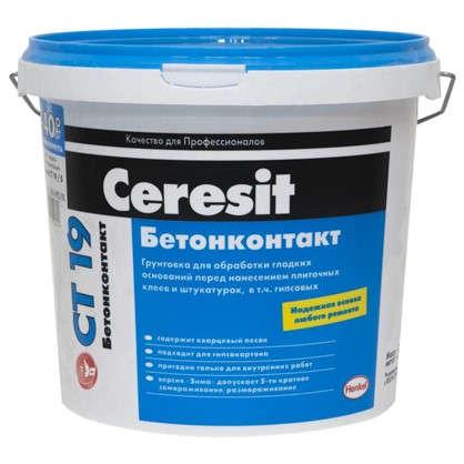 Грунт Бетонконтакт Ceresit CT19 5 кг