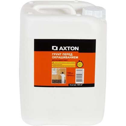 Купить Грунт фасадный акриловый Axton 10 л дешевле