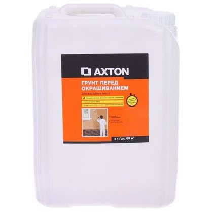 Грунт фасадный акриловый Axton 5 л цена
