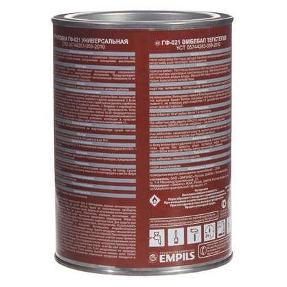 Купить Грунт ГФ-021 цвет красно-коричневый 1 кг дешевле