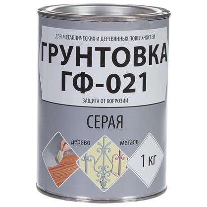 Купить Грунт ГФ-021 цвет серый 1 кг дешевле