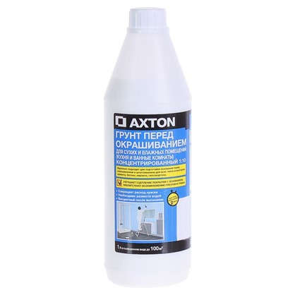 Купить Грунт-концентрат Axton для сухих и влажных помещений 1 л дешевле
