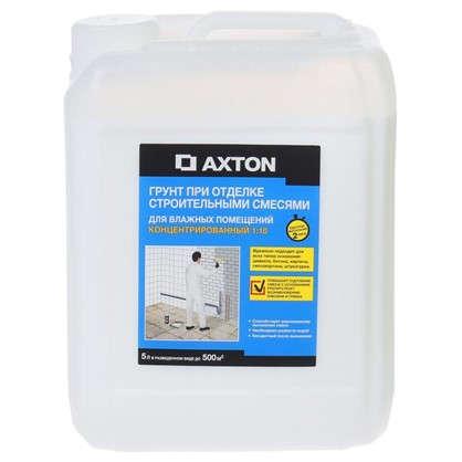 Грунт-концентрат для отделки строительными смесями для влажных помещений 5 л