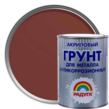 Грунт по металлу Радуга ВД АК Р-150 0.9 л цвет кирпичный