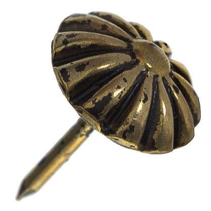 Гвоздь мебельный 548WH цвет бронза 30 шт.