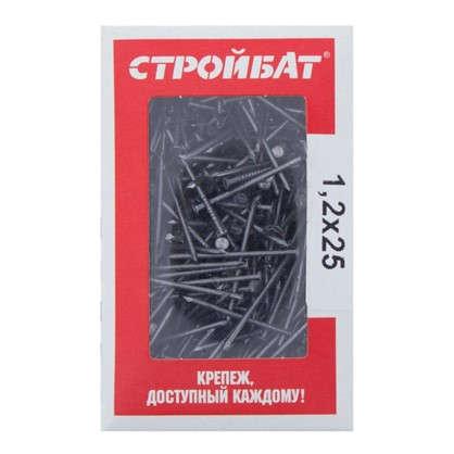 Купить Гвозди строительные 1.2х25 мм 0.2 кг дешевле