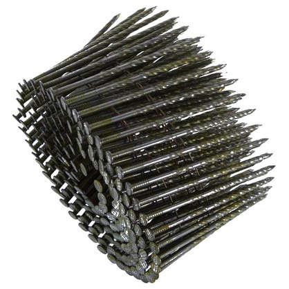 Гвозди строительные винтовые в обойме 2.8х80 мм 200шт.