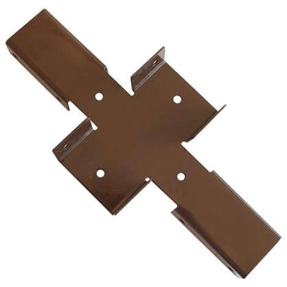 Купить Х-кронштейн Ral цвет коричневый дешевле